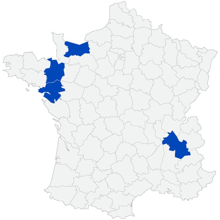 carte des centres CCMBA