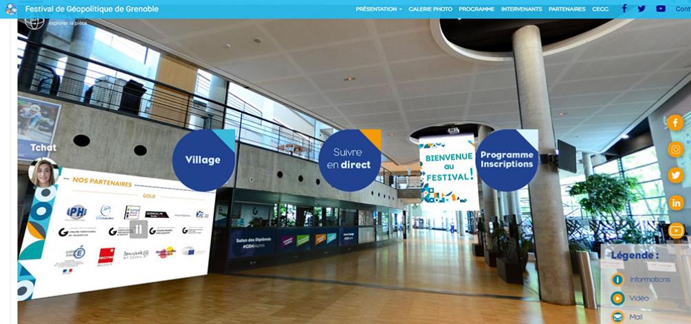 Festival de Géopolitique : bilan de la 13ème édition 100 % virtuelle : plus de 12 000 connexions en direct