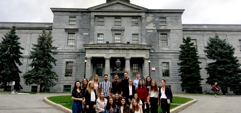 Nouveau parcours transcontinental au Canada en partenariat avec McGill University (Montréal).