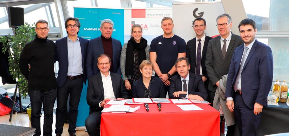 CASE Grenoble Alpes :  Une structure unique en France pour accompagner les sportifs d'excellence