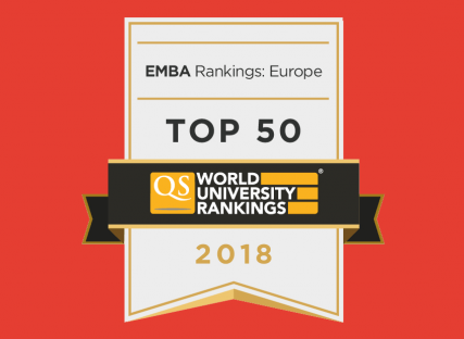 Grenoble Ecole de Management's Part-time MBA is ranked 64th worldwide in the new EMBA ranking published on April 26, 2018 by QS.