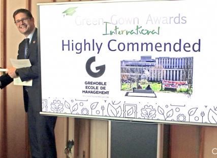 RSE : GEM récompensée aux Green Gown Awards et parmi les premiers à répondre à l'appel pour le climat