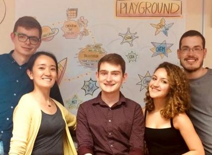 Serious Games : 4 etudiants du MIT à Grenoble Ecole de Management